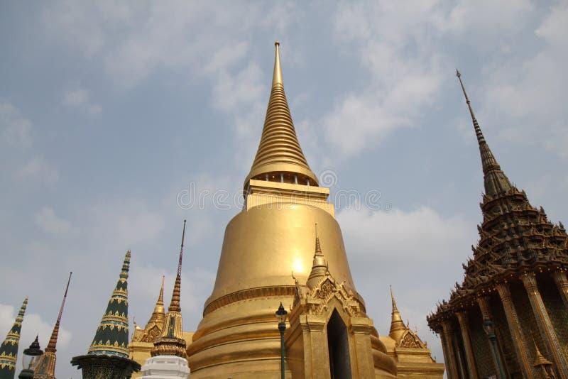 Templo de Emerald Buddha, Wat Phra Kaew fotografia de stock