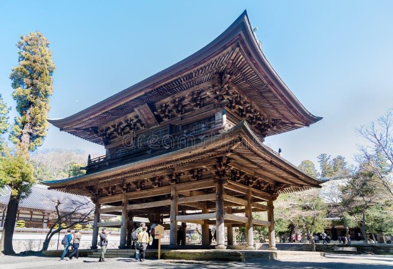 Templo de Engaku-ji - es uno del templo m?s importante de Zen Buddhist imágenes de archivo libres de regalías