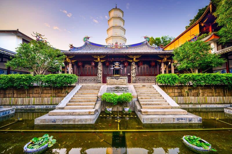 Templo de Fuzhou imágenes de archivo libres de regalías