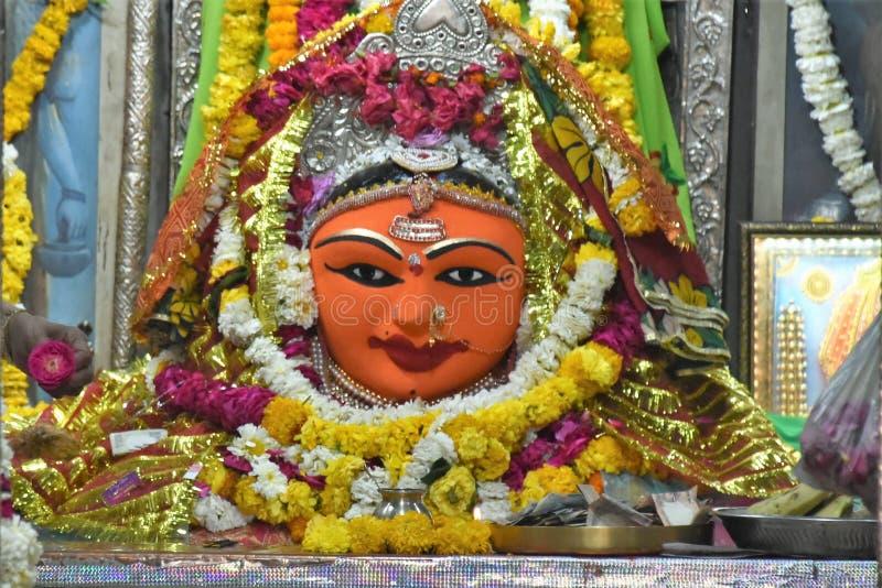 Templo de Gayatri Shakti Peeth, Ujjain, Madhya Pradesh fotos de archivo libres de regalías