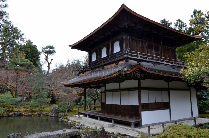 Templo de Ginkakuji imagen de archivo