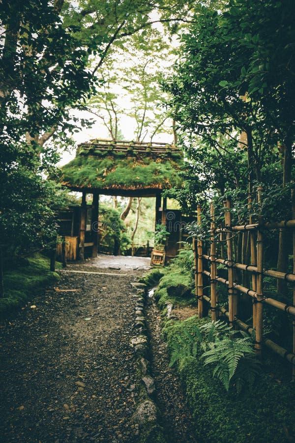 Templo de Gion, Kyoto, Japón foto de archivo