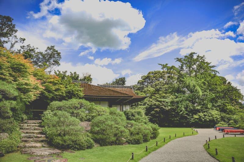 Templo de Gion, Kyoto, Jap?n fotografía de archivo