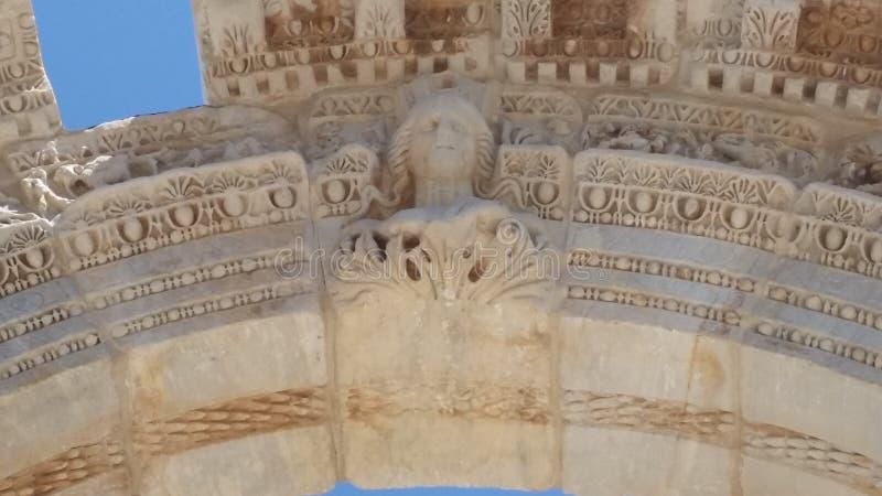 Templo de Hadrians para su amante fotos de archivo libres de regalías
