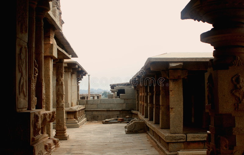 Templo de Hampi fotografia de stock royalty free