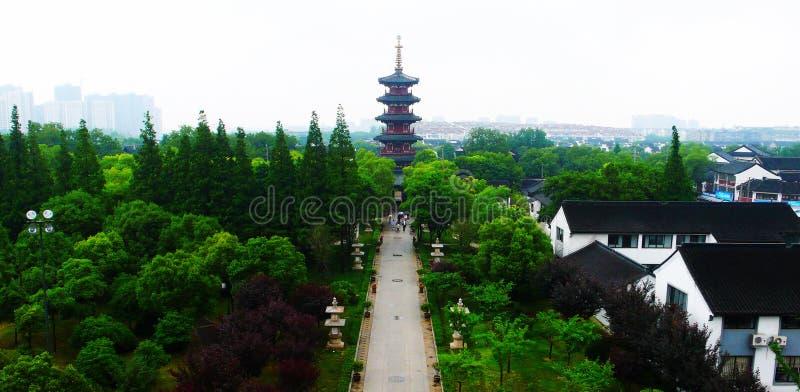 Templo de Hanshan fotos de stock