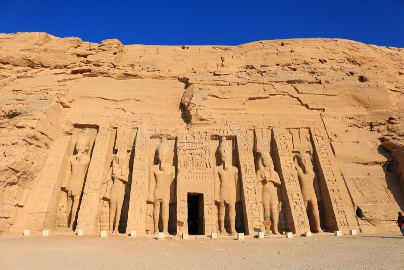 Templo de Hathor imagem de stock royalty free