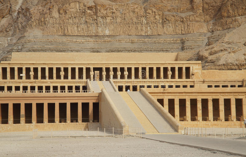 Templo de Hatschepsut fotos de stock royalty free