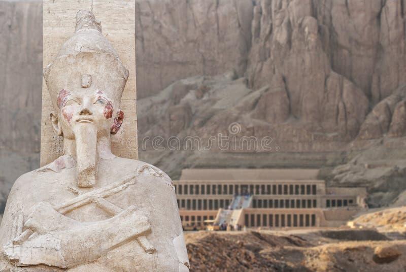 Templo de Hatsepsut em Egipto imagens de stock royalty free