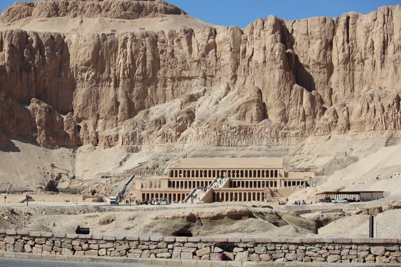 Templo de Hatshepsut imagens de stock