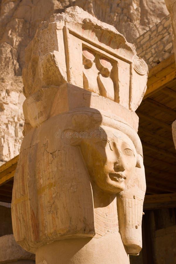 Templo de Hatshepsut imagem de stock royalty free