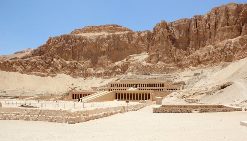 Templo de Hatshepsut. imagens de stock