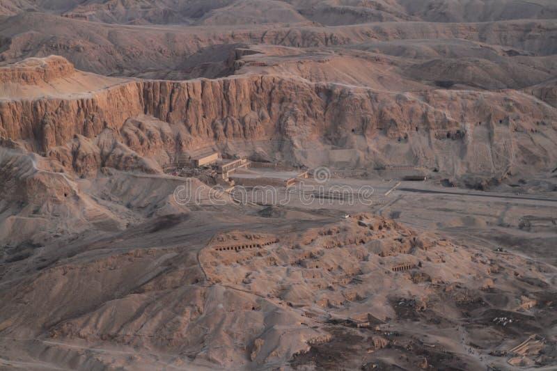 Templo de Hatshepsut em Egito fotos de stock royalty free