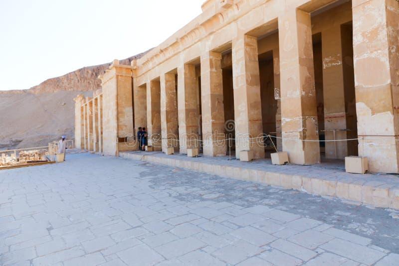 Templo de Hatshepsut en Luxor, Egipto imagen de archivo