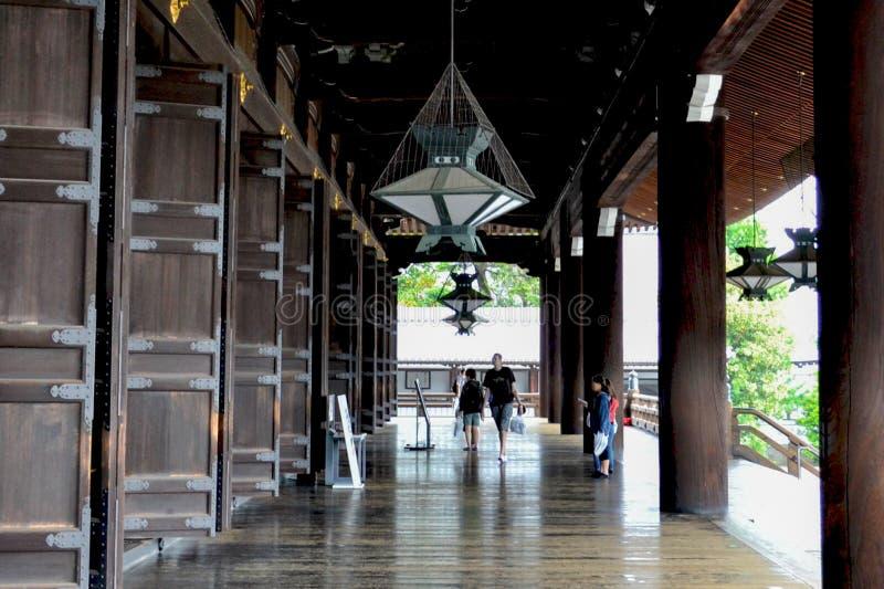 Templo de Higashi Honganji fotografia de stock royalty free