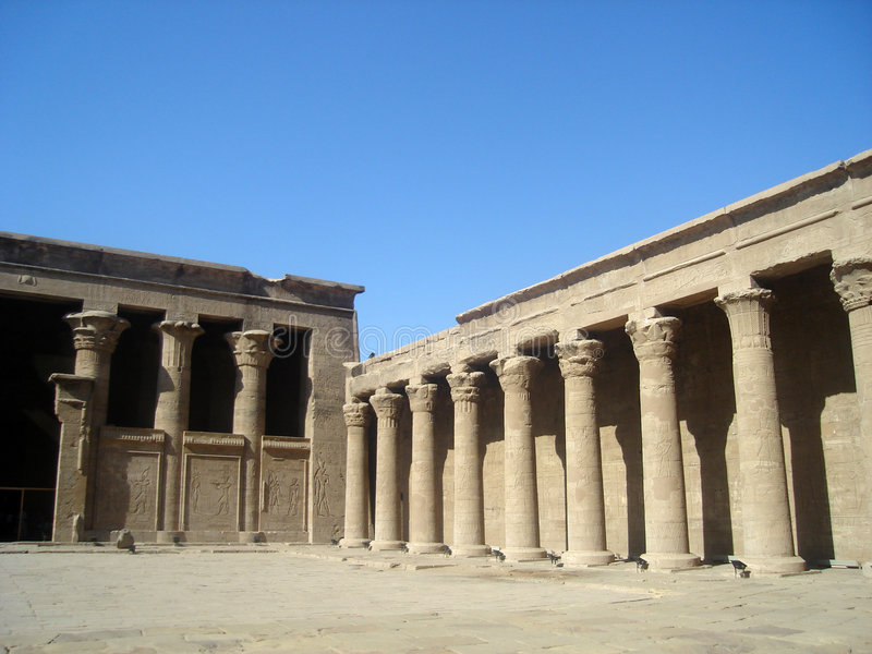 Templo de Horus fotografía de archivo