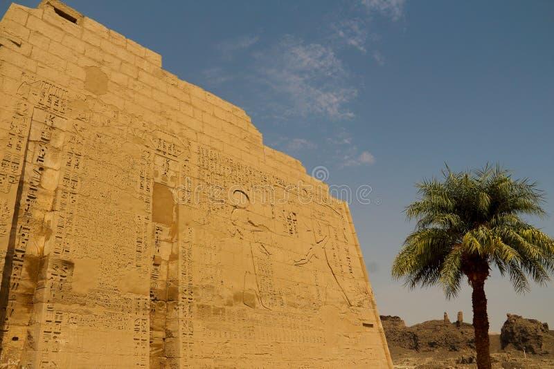 Templo de Horus imagenes de archivo
