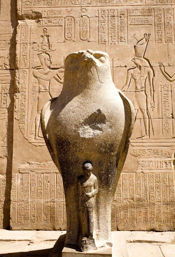 Templo de Horus em Edfu fotos de stock