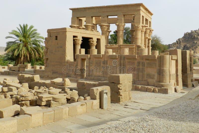 Templo de Horus en Edfu, Egipto imagenes de archivo