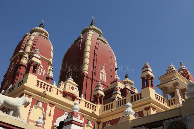 Templo de Iskcon da Índia de Nova Deli foto de stock