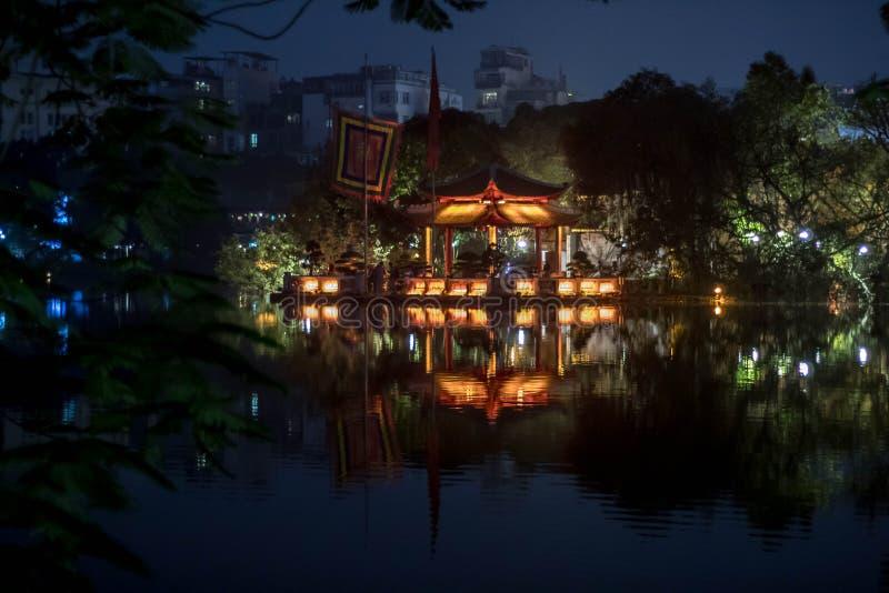 Templo de Jade Mountain fotos de stock royalty free
