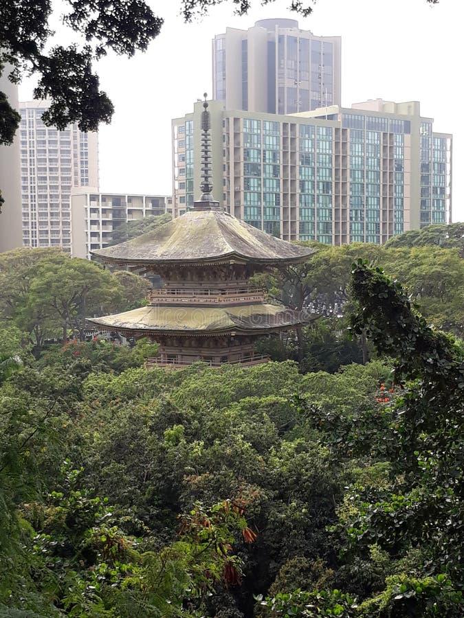 Templo de Japanesse fotos de stock royalty free
