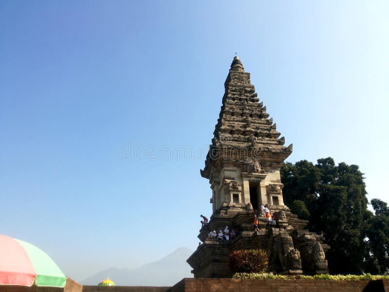 Templo de Jawi imagem de stock