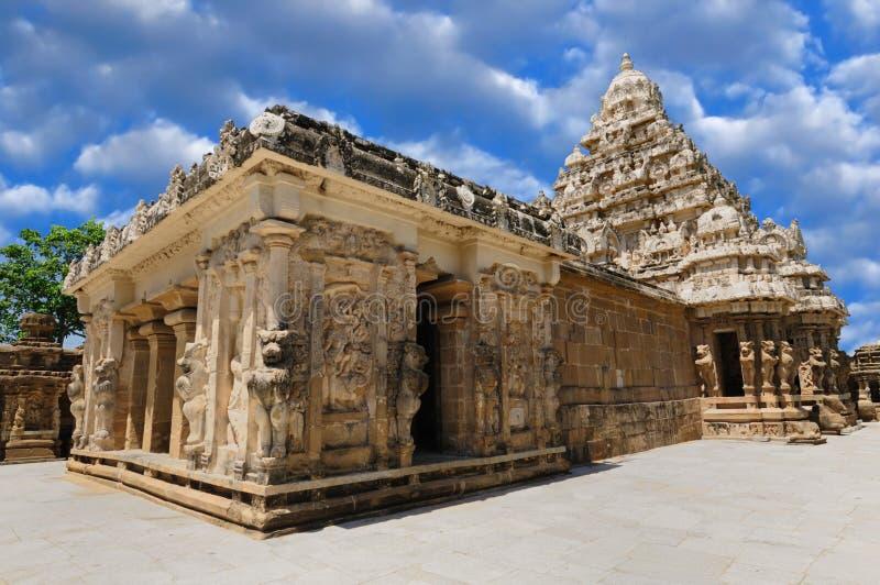 Templo de Kailasanathar fotografia de stock royalty free