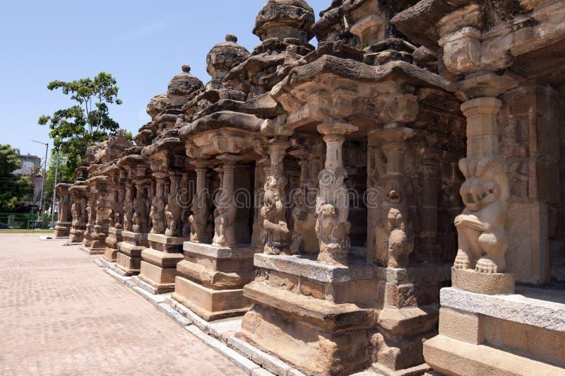 Templo de Kailasanathar imagem de stock royalty free
