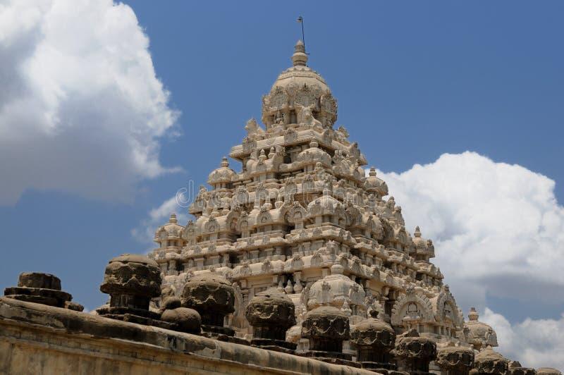 Templo de Kailasanathar imagem de stock