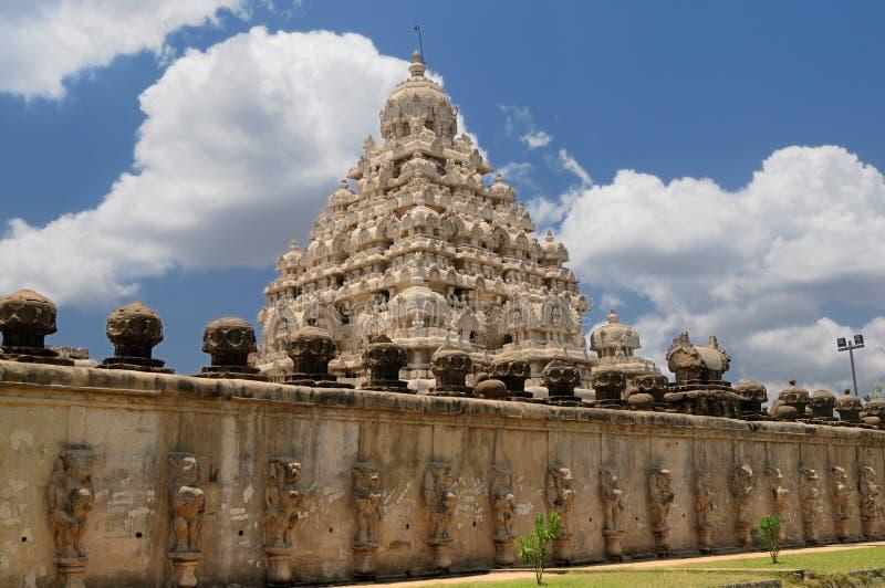 Templo de Kailasanathar fotos de stock