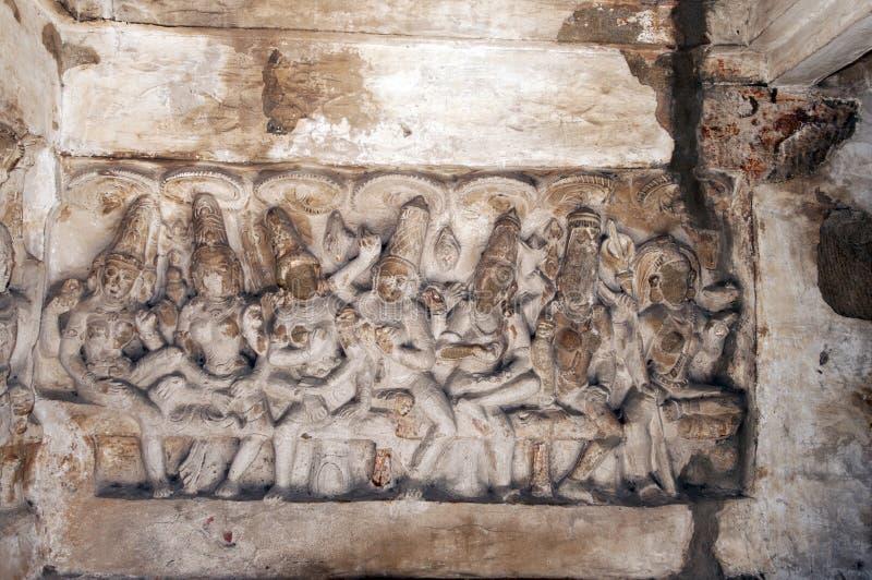 Templo de Kailasanathar foto de stock