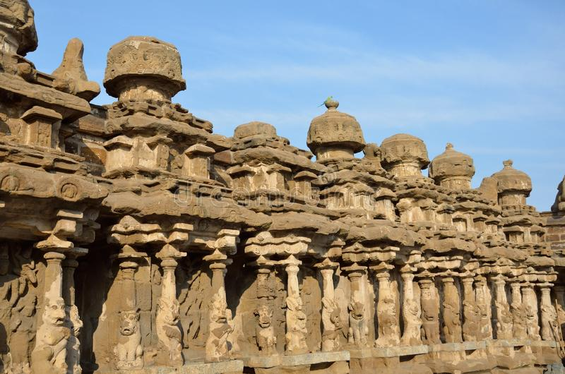 Templo de Kailasanathar imagens de stock