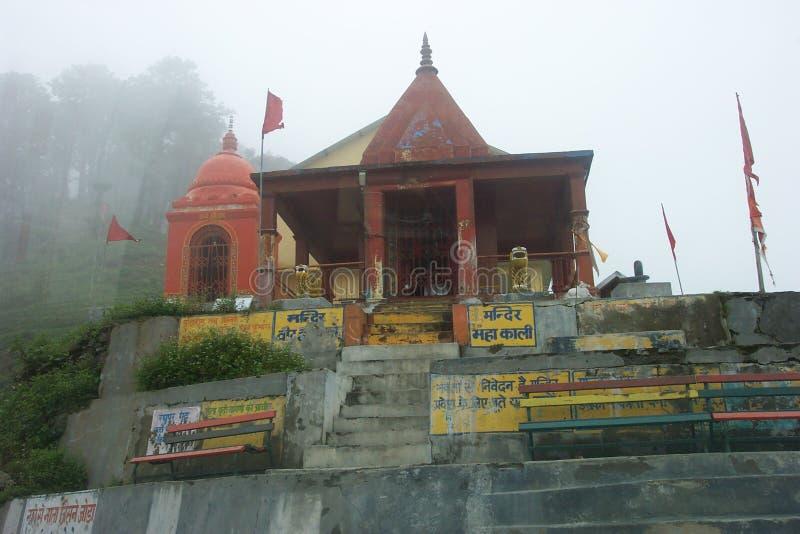 Templo de Kali imagens de stock