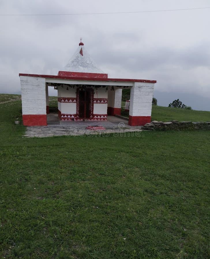 Templo de Kalika mata fotografia de stock