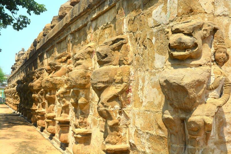 Templo de Kanchi Kailasanathar fotografia de stock royalty free