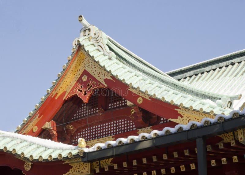 Templo de Kanda Myojin imagen de archivo