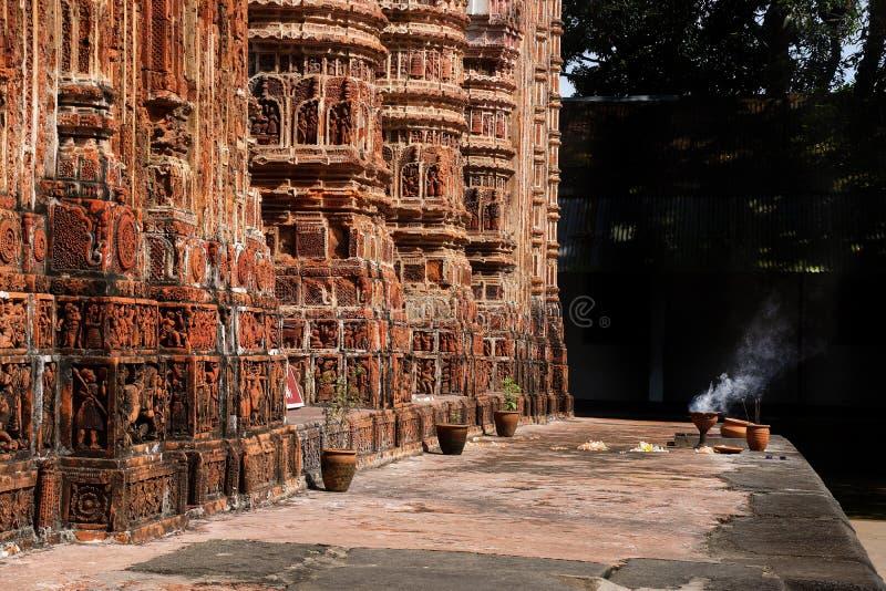 Templo de Kantaji, Dinajpur foto de stock