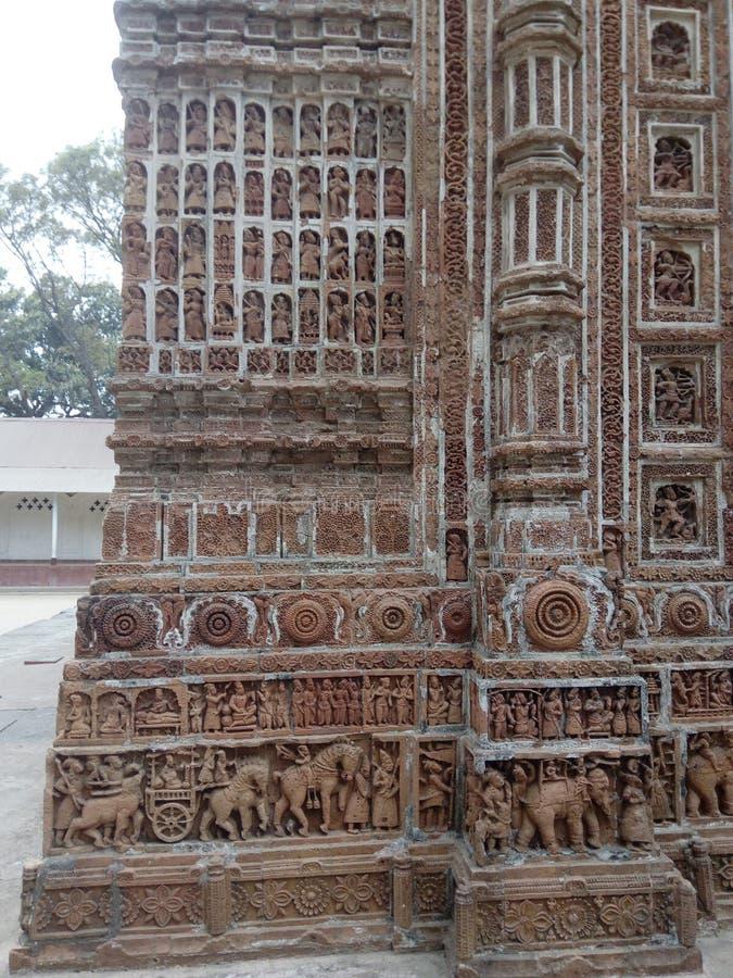 Templo de Kantanagar fotos de stock royalty free