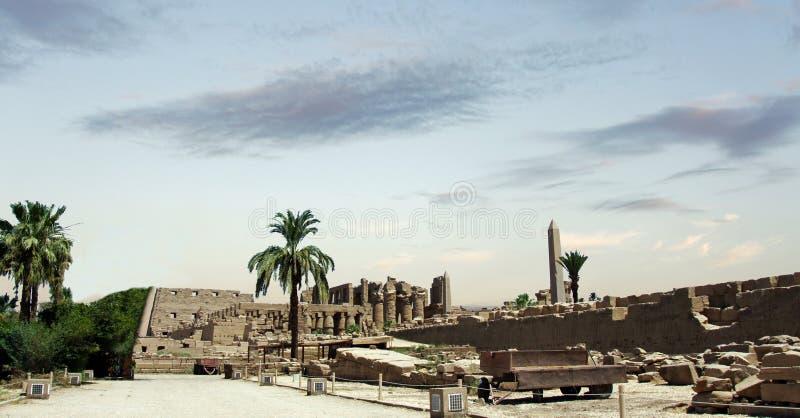 Templo de Karnak imagen de archivo libre de regalías