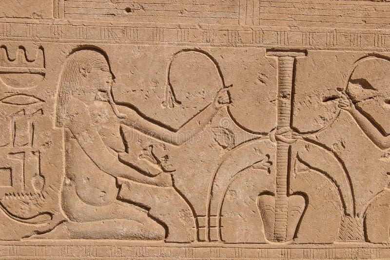 Templo de Karnak, Egipto fotografía de archivo libre de regalías