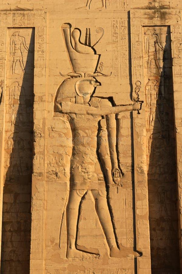 Templo de Karnak, Egipto fotografia de stock