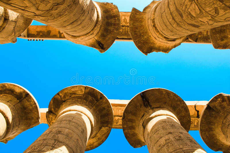 Templo de Karnak, Luxor, Egito imagem de stock royalty free