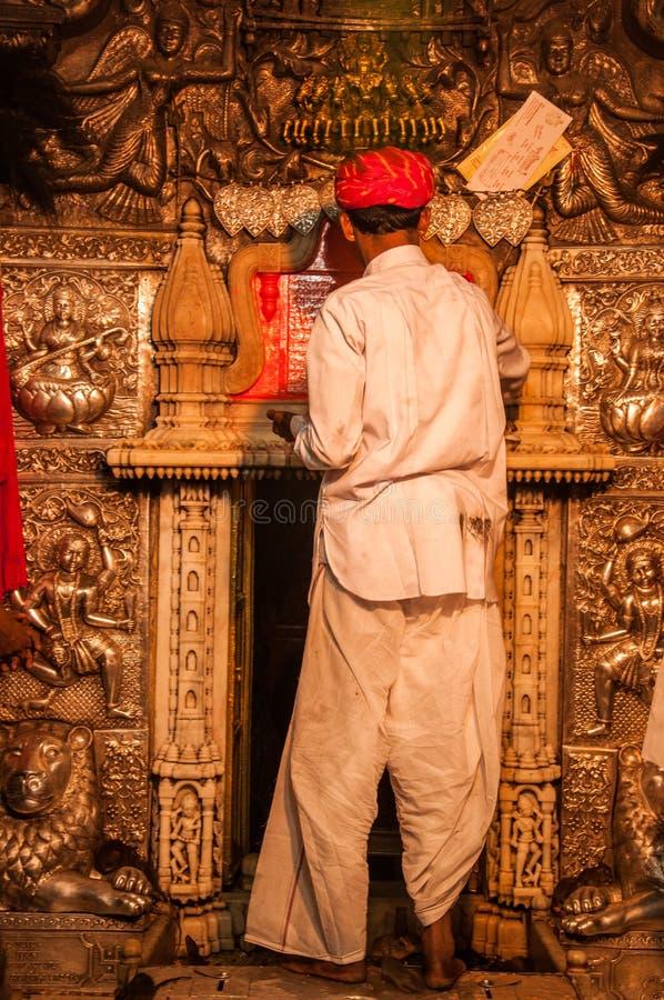 Templo de Karni Mata fotos de archivo libres de regalías
