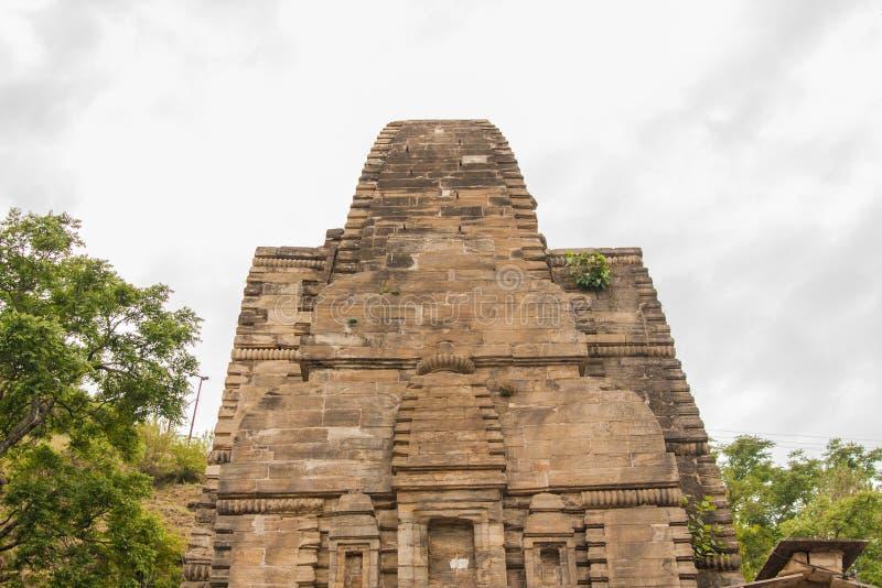 Templo de Katarmal Sun, perto de Almora foto de stock royalty free