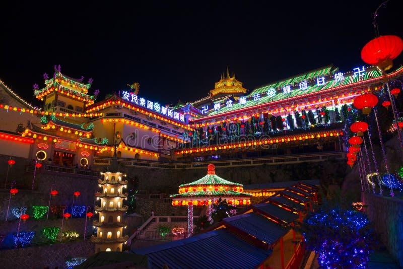 Templo de Kek Lok Si fotos de archivo libres de regalías