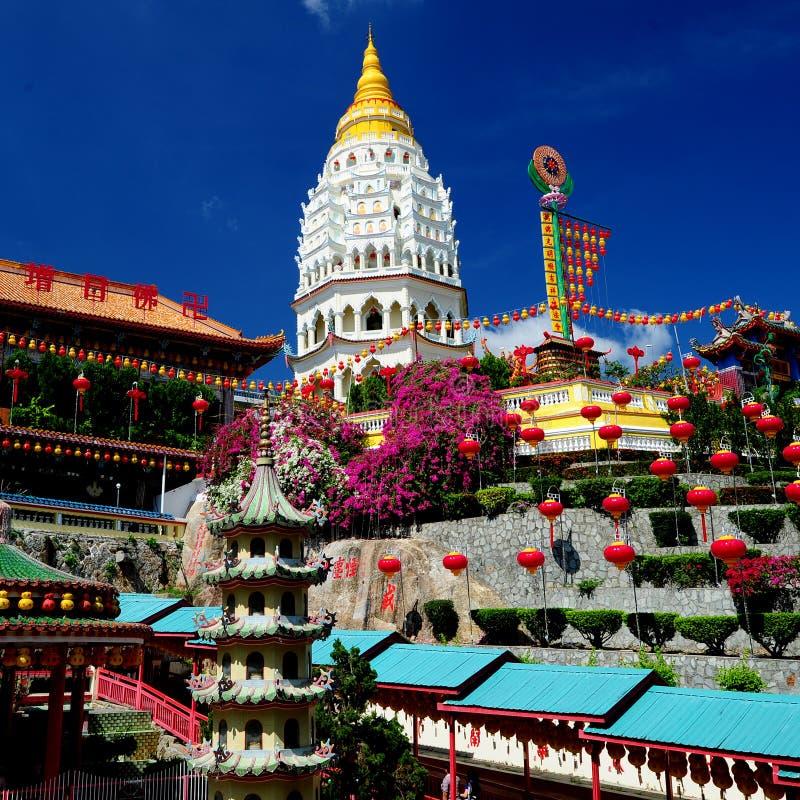 Templo de Kek Lok Si foto de archivo libre de regalías