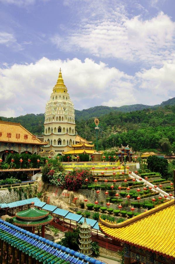 Templo de Kek Lok Si imagen de archivo libre de regalías