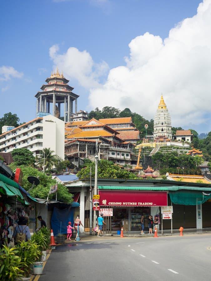 Templo de Kek Lok Si, el templo chino, Georgetown, Penang, Malasia foto de archivo libre de regalías