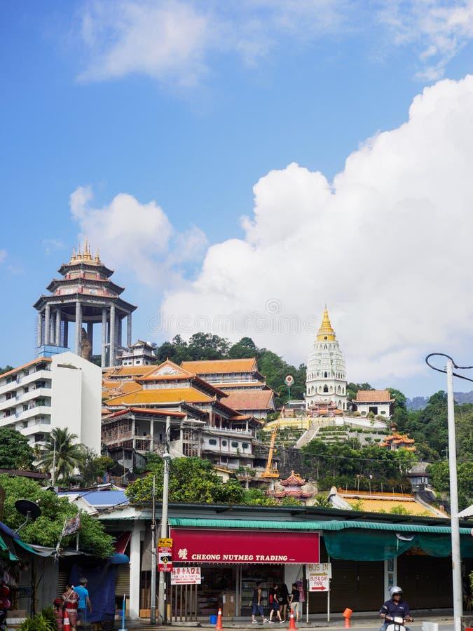 Templo de Kek Lok Si, el templo chino, Georgetown, Penang, Malasia imagen de archivo libre de regalías